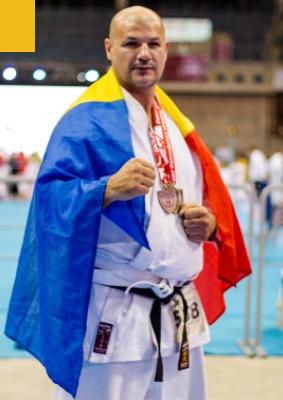 sensei Oliwer DOBRE - multi campion mondial, european si national la karate traditional shotokan fudokan