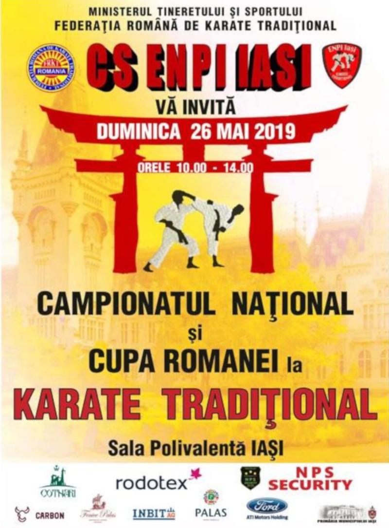 Campionatul National de Karate Traditional 2019