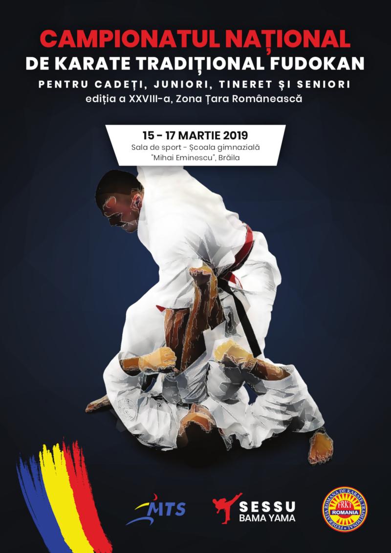 Campionatul National de Karate Traditional - zona Tara Romaneasca (fudokan 2019)