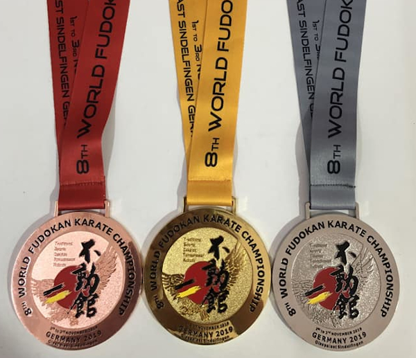 8th World Fudokan Karate Championship 2019 - Medals Preview