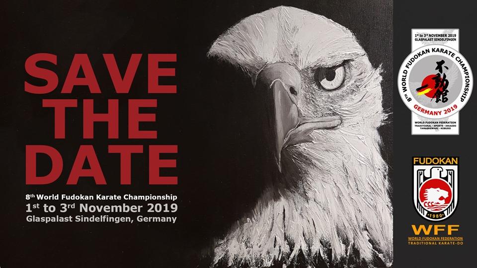 8th World Fudokan Karate Championship 2019 - Save the date! Eagle