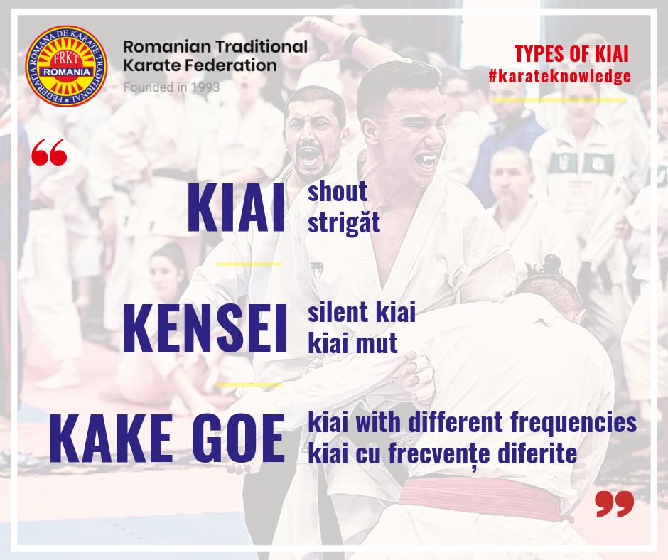 Types of KIAI - Traditional Karate Romania - FRKT