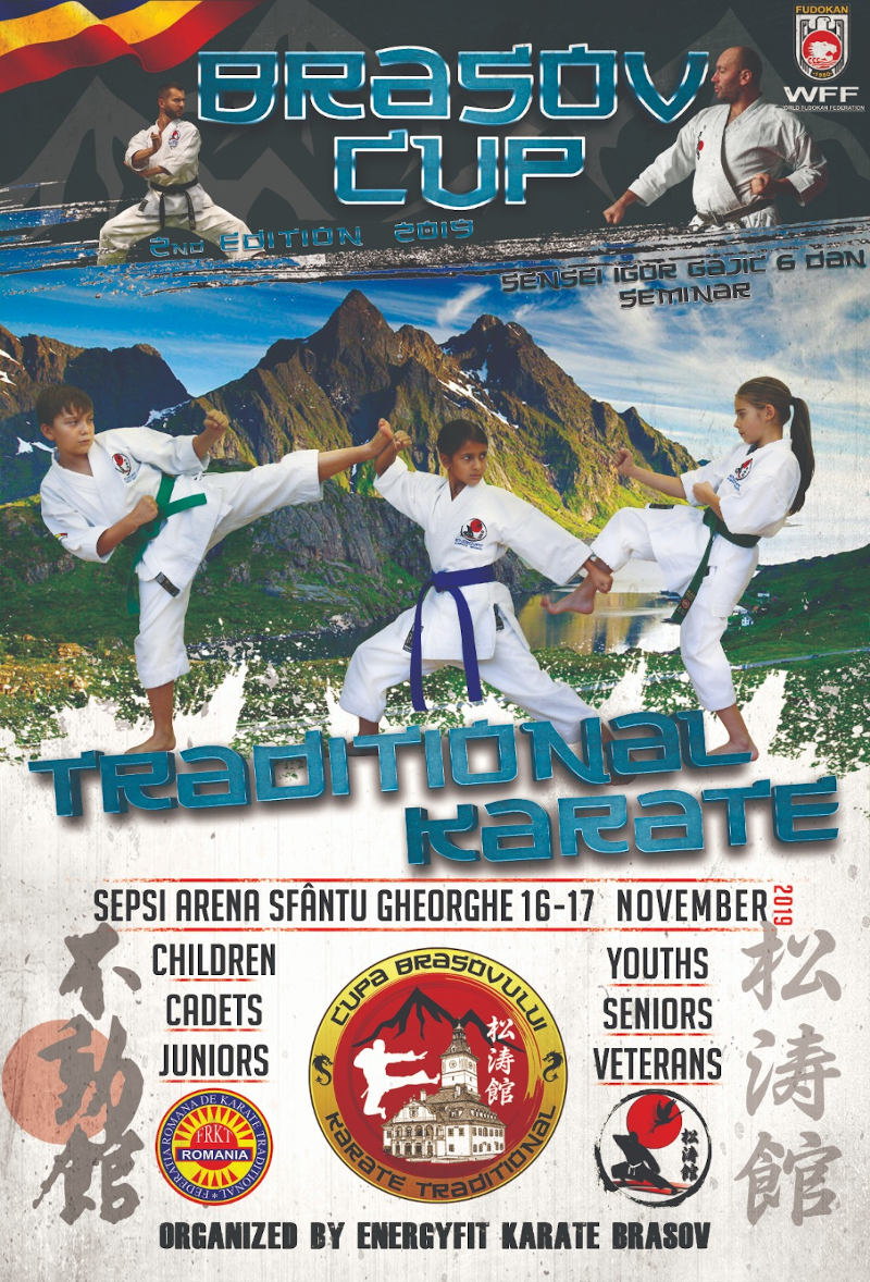 Cupa Brasov - Karate Traditional 2019