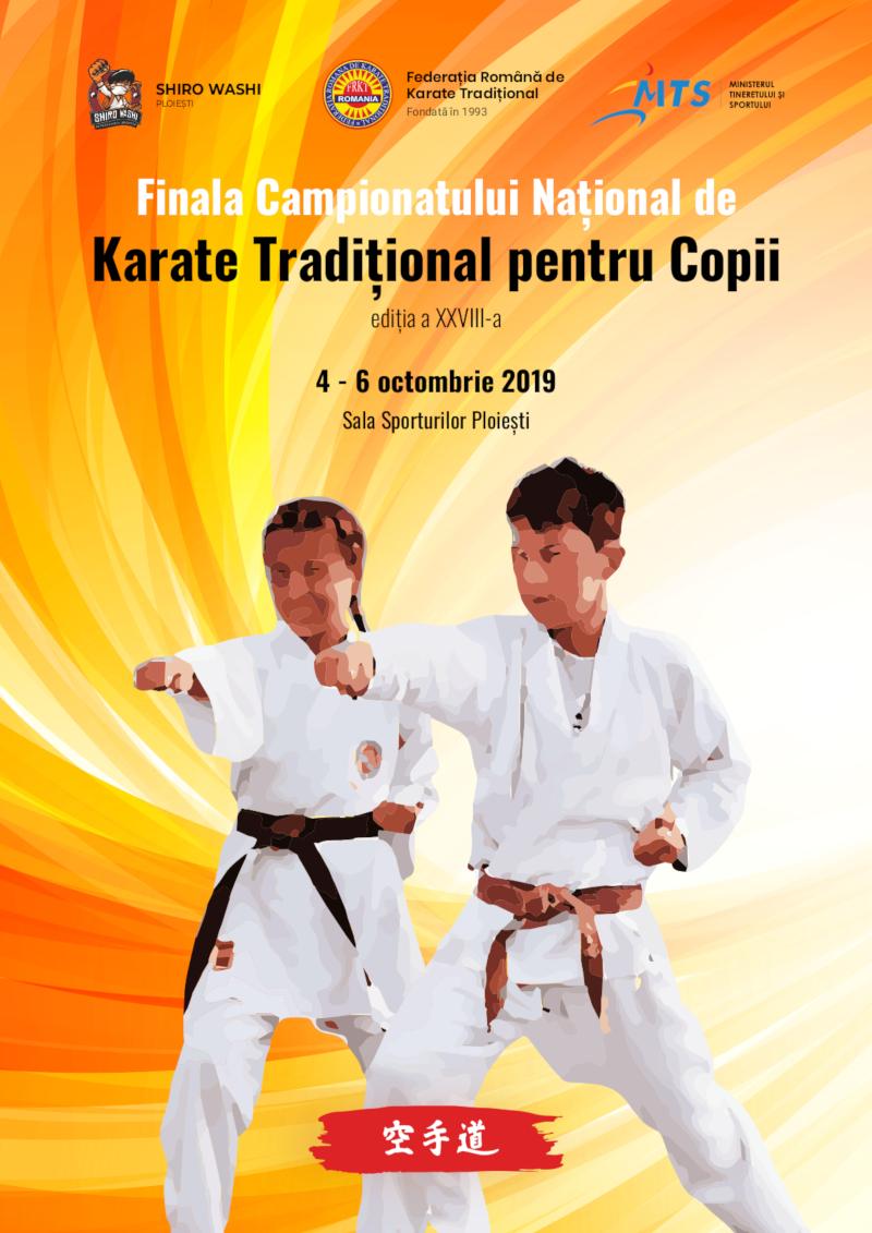 Finala Campionat National de Karate Traditional pentru Copii - 2019