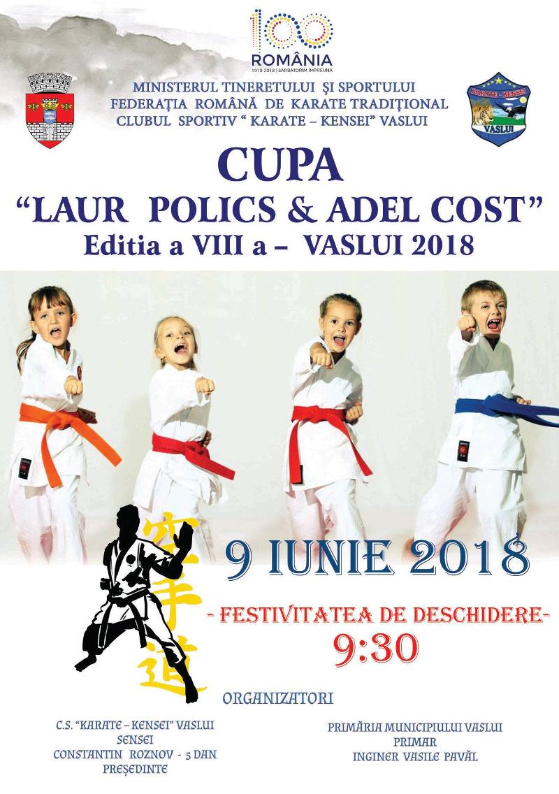 "Cupa ""LAUR POLICS & ADEL COST"""