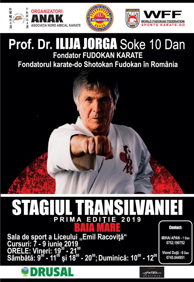 Stagiul Transilvaniei cu Soke Ilija JORGA 10 DAN - Fudokan Founder