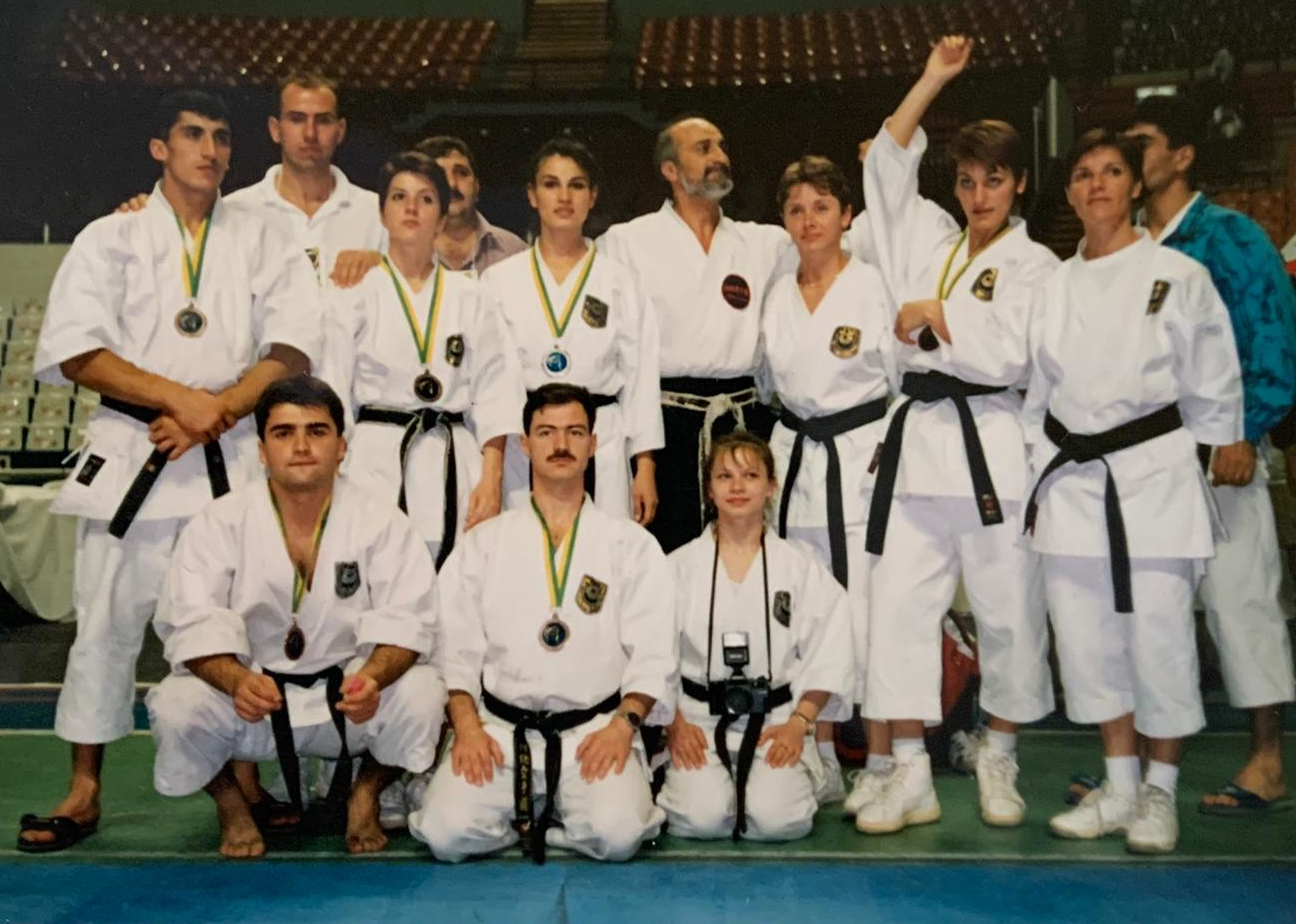 Traditional Karate Team Romania 1996 Brasil
