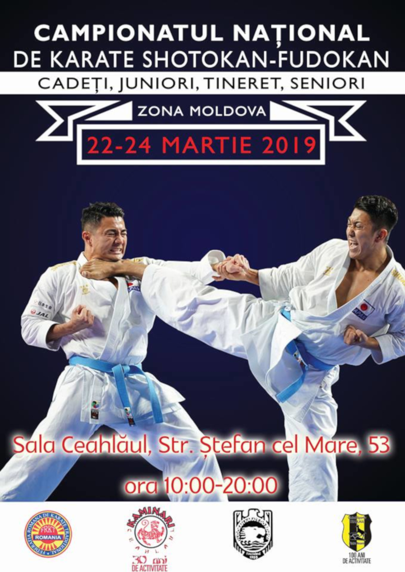 Campionatul National de Karate Traditional - zona Moldova (fudokan 2019)