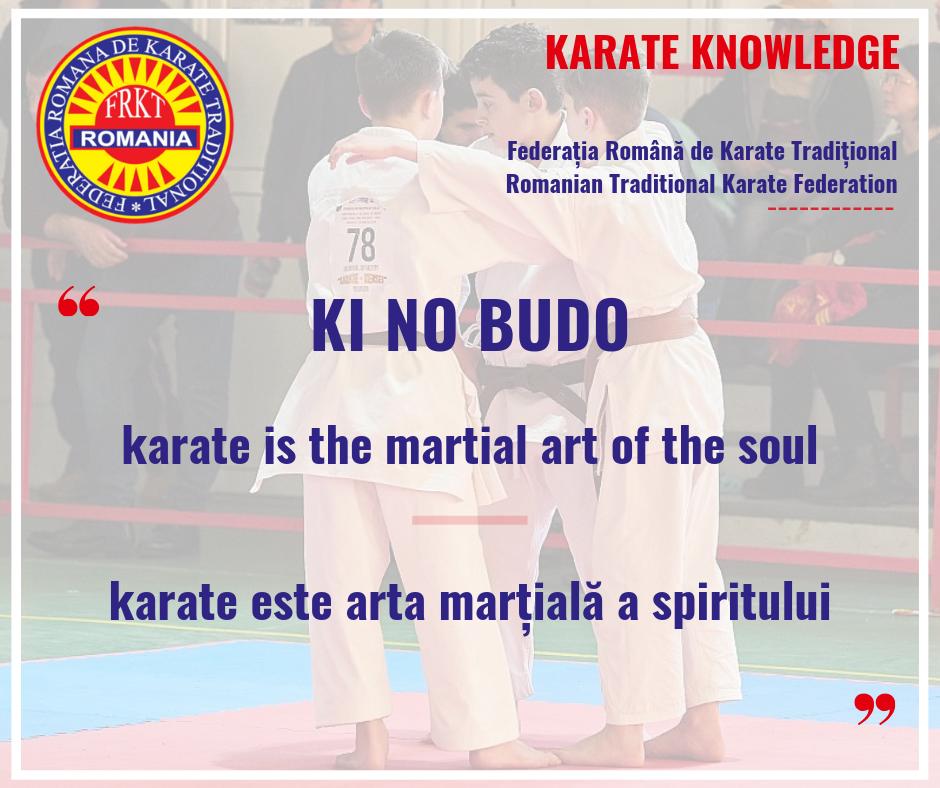 KI NO BUDO - Karate is the Martial Art of the Soul