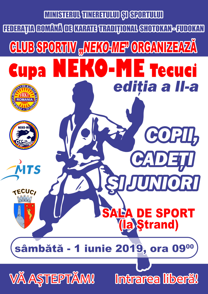 Cupa NEKO ME TEcuci la Karate Traditional editia 2019