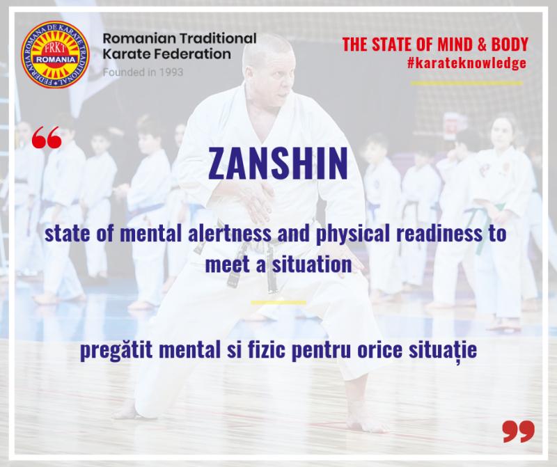 ZANSHIN - Traditional Karate Romania